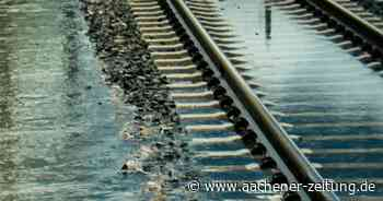 Unwetter: Züge fallen zwischen Geilenkirchen und Herzogenrath aus - Aachener Zeitung