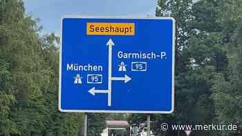 A95: Brücken-Abriss trennt Penzberg und Iffeldorf - Merkur Online