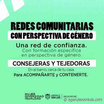 La red comunitaria de asistencia inmediata llega a Villa Mercedes - Agencia de Noticias San Luis