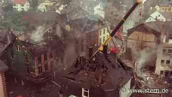 Herborn: Als ein Tanklaster eine hessische Kleinstadt in Brand setzte - STERN.de