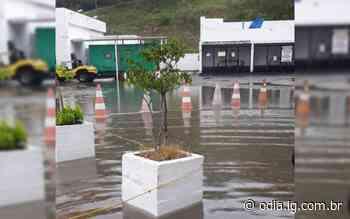 Chuva forte causa pontos de alagamento em Arraial do Cabo - O Dia