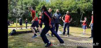 Biathlon, tennis de table, volley-ball... À Val-de-Reuil, les jeunes de l'Epide jouent les olympiens - Paris-Normandie