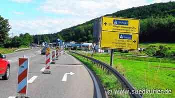 Die Straße von Blumberg nach Geisingen ist monatelang gesperrt   SÜDKURIER Online - SÜDKURIER Online