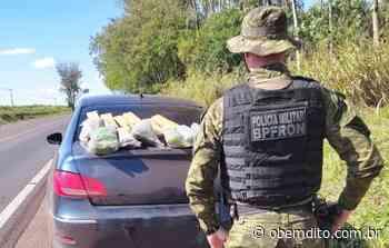 BPFron apreende maconha e skunk durante abordagem em Cruzeiro do Oeste - OBemdito