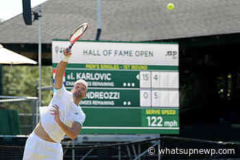 Kevin Anderson, Ivo Karlovic accept wild cards to the 2021 Hall of Fame Open main draw - What'sUpNewp