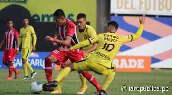 Resultado Coopsol vs Unión Huaral: empate 1-1, goles de Steven Aponzá y Carlos López del duelo por Liga 2 de f - LaRepública.pe