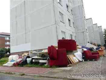 Imposanter Sperrmüllhaufen frustriert die Nachbarn - Drochtersen - Tageblatt-online