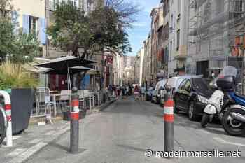 Désormais rouvert, le haut de la rue d'Aubagne devrait rester piéton - Made in Marseille