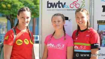 Triathlon SG Dettingen: Johanna Schmid und Mirjam Huber setzen Glanzlichter - SWP