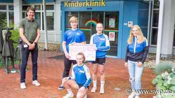 """Spendenlauf des VfL Pfullingen: """"Kinder laufen für Kinder"""" ist der Renner - SWP"""