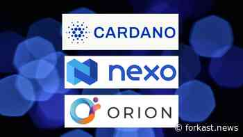 Cardano Expands Ecosystem With Nexo And Orion Partnerships - Forkast News