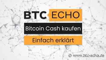Bitcoin-Cash (BCH) kaufen - einfach und direkt | Ratgeber Anbieter2021 - BTC-ECHO