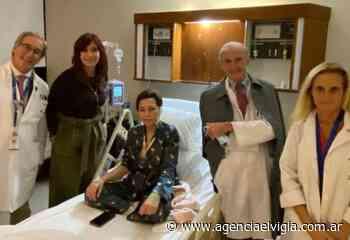 Reapareció Mayra Mendoza tras su intervención quirúrgica - Agencia El Vigía