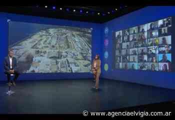 Malena Galmarini y Gabriel Katopodis lanzaron AySA.DATA - Agencia El Vigía