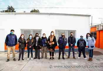 Magdalena Sierra recorrió obras en escuelas públicas de Avellaneda - Agencia El Vigía