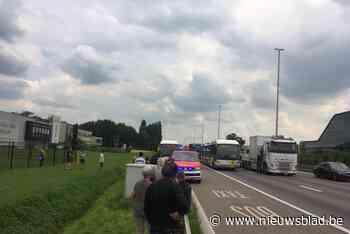 Brandgeur op Lijnbus door technisch defect in Wommelgem