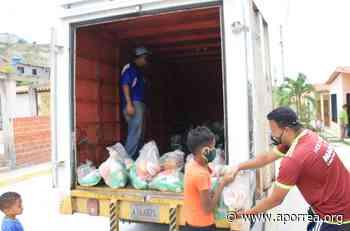 Miranda: 3.801 familias de Guarenas fueron beneficiadas con bolsas de alimentos en el mes de junio - Aporrea