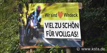 Windeck: Plakataktion soll Motorradfahrer am Schladernring bremsen - Kölner Stadt-Anzeiger