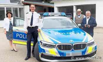 Ruth Müller in Mainburg - Polizeidienststelle zwischen Autobahn und Hopfengarten - idowa