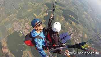 Gleitschirmfliegen: Wenn auf 2000 Meter Höhe die Sorgen verschwinden - Main-Post
