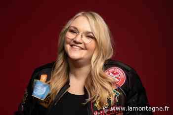 La chanteuse Lola Dubini originaire d'Issoire (Puy-de-Dôme) au casting de Danse avec les stars saison 11 - La Montagne