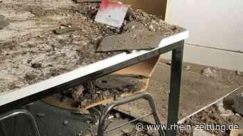 Schreck im Alten Rathaus in Bad Ems: Teil der Decke stürzt ab - Rhein-Zeitung