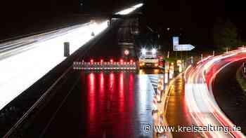 A1 bei Lohne gesperrt: In der Nacht ist die Autobahn bei Vechta erneut dicht - kreiszeitung.de