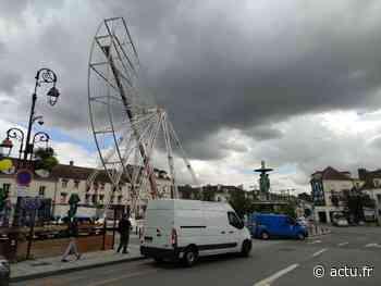 Melun. Pas de feu d'artifice cette année, mais une grande roue place Saint-Jean - actu.fr