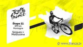 Direct TV : Tour de France 2021 - Etape 11 : Sorgues > Malaucène - france.tv