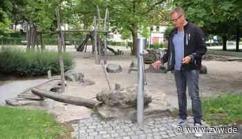 Kernen: Warum die Spielplatz-Wasserpumpe im Schlosspark weitere Monate defekt bleibt - Kernen - Zeitungsverlag Waiblingen