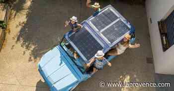 Cassis : le Méhari électrique Eden se coiffe de panneaux solaires - La Provence