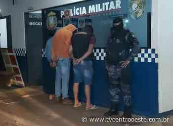 Três moradores de Pontes e Lacerda são presos após ação criminosa de roubo em Cuiabá – TV Centro Oeste - Tv Centro Oeste