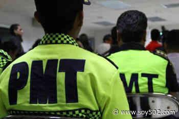 VIDEO: Agreden a un agente de la PMT en Coatepeque, Quetzaltenango - Soy502