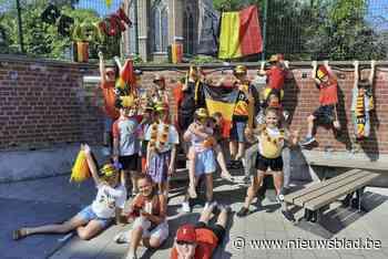 Vrije basisschool even supportersclub Rode Duivels - Het Nieuwsblad