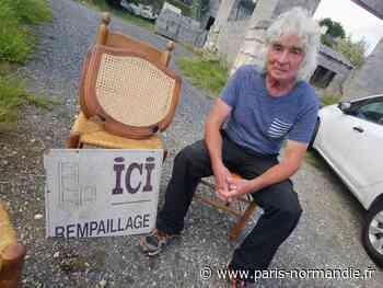 Près de Pont-Audemer : après l'incendie, le rempailleur de chaises va reprendre son activité - Paris-Normandie