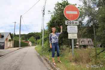 Près de Pont-Audemer, une côte à sens unique empruntée à contre-sens inquiète la maire - L'Eveil de Pont-Audemer