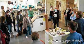 Réseau des médiathèques : une délégation de Morlaix communauté en visite à Ploemel (56) - Le Télégramme