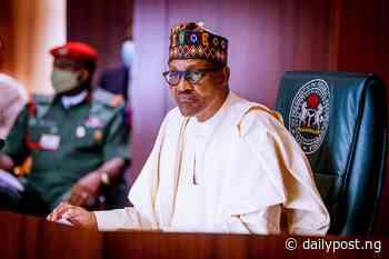 Buhari thanks Gabriel Abe as ex-perm sec clocks 100 - Daily Post Nigeria