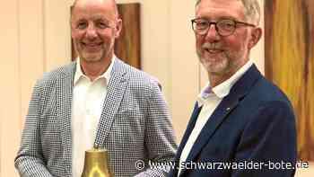Nagold - Präsidentenwechsel im Rotary-Club Nagold-Herrenberg - Schwarzwälder Bote
