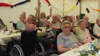 Zurück zum Alltag nach Corona: Seniorenheim in Uetersen: Vorsichtige Öffnung mit Sommerfest für Bewohner | shz.de - shz.de
