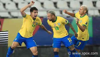 Brasilien steht im Finale der Copa America - Neymar bereitet Siegtreffer vor - SPOX.com
