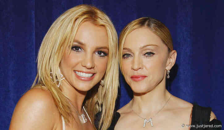 Madonna Says She's Going to Get Britney Spears 'Out of Jail'