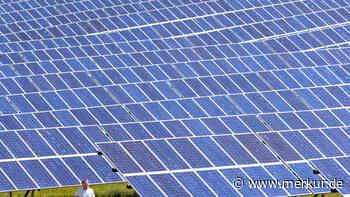 Ein weiterer Schritt Richtung Fotovoltaik - Merkur.de