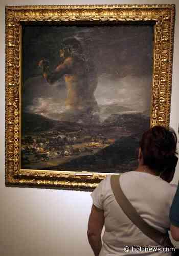 """El Prado mantiene vivo el debate sobre la atribución de """"El Coloso"""" a Goya - Hola News"""