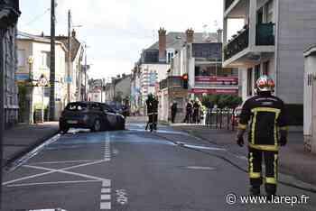 Une voiture en flammes dans le centre-ville de Montargis - La République du Centre