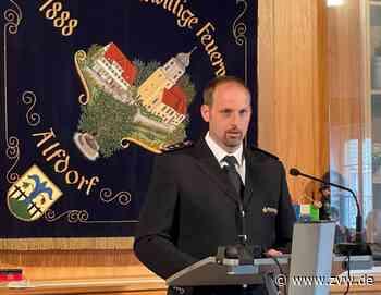 Marcel Stegmaier ist der neue Kommandant bei der Alfdorfer Feuerwehr - Alfdorf - Zeitungsverlag Waiblingen