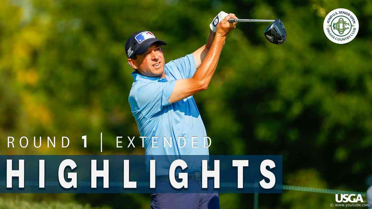 Highlights: 2021 U.S. Senior Open, Round 1