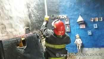 Susto en Monte Grande: Se prendió fuego el cuarto de un bebé - InfoRegión