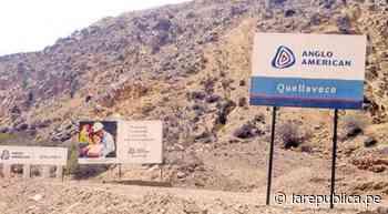 Moquegua: conforman mesa de diálogo para abordar la problemática minera - LaRepública.pe