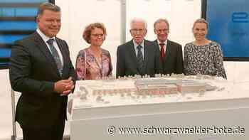 Erbe-Bau nimmt Formen an - Rangendingen rückt in den Focus - Schwarzwälder Bote